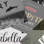 8 Free Fonts & Wonderful Hand-Drawn